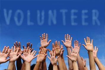 volunteer page